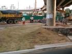 Obra deixa trânsito lento em trecho da Avenida Paralela, diz Transalvador