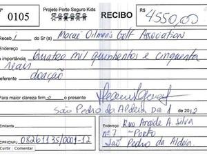 Doação feita pela MOGA, onde Campsie era também diretor (Foto: Arquivo/MOGA)