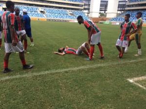 Operário FC cai para a Segunda Divisão (Foto: Lucas de Senna/TVCA)