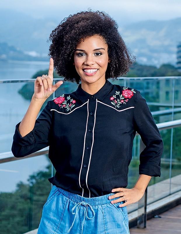 Heslaine Vieira (Foto: Fabio Cordeiro/Ed. Globo)
