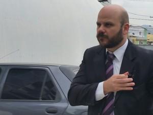 Leonardo Gagno, advogado de Calú (Foto: Juirana Nobres/ G1)