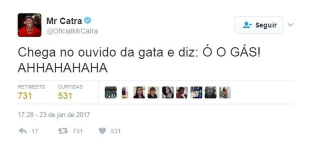 Catra (Foto: Reprodução/Twitter)