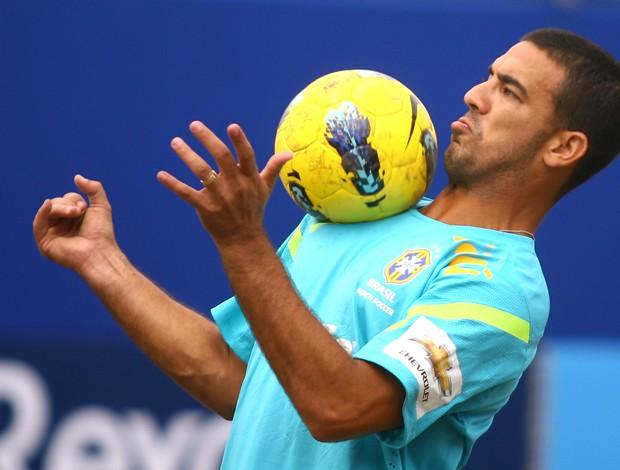 Daniel Nogueira Zidane seleção brasileira de futebol de areia Copa América Santos (Foto: William Lucas/inovafoto)
