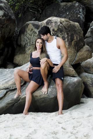Nicole Bahls e Marcelo Bimbi (Foto: Anderson Barros/EGO)