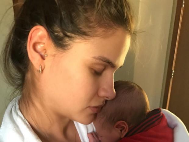 Andressa Suita e o filho, Gabriel (Foto: Reprodução/Instagram)