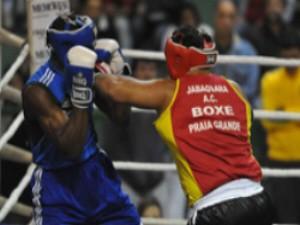 Boxe de Praia Grande no Torneio Luvas de Ouro (Foto: Divulgação: Prefeitura de Praia Grande)