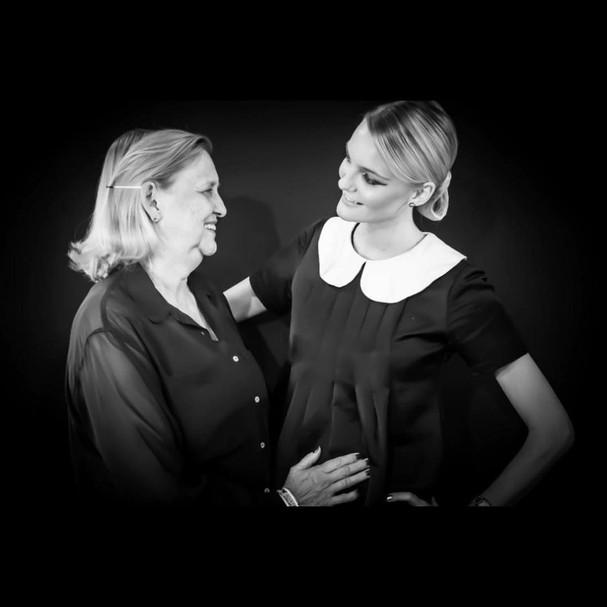 Carol e Lourdes Trentini (Foto: Reprodução Instagram)