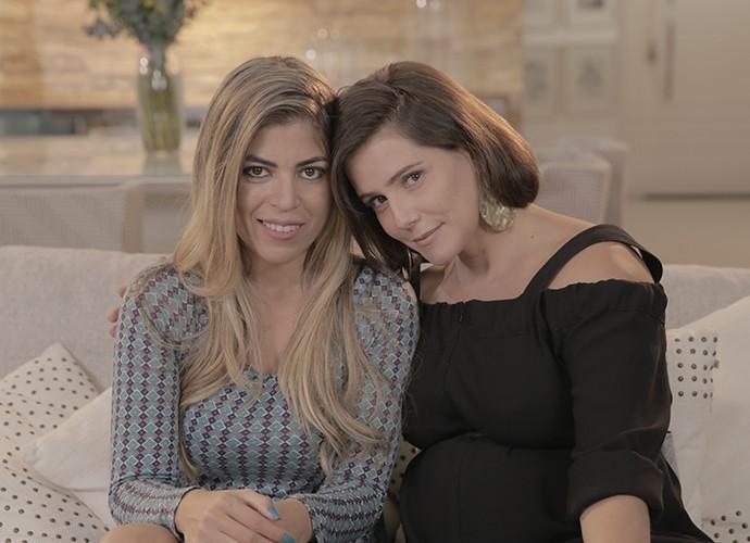 Deborah Secco e Bruna Surfistinha comentam filme e falam da vida atualmente (Foto: Guilherme Jacobs/ Gshow)