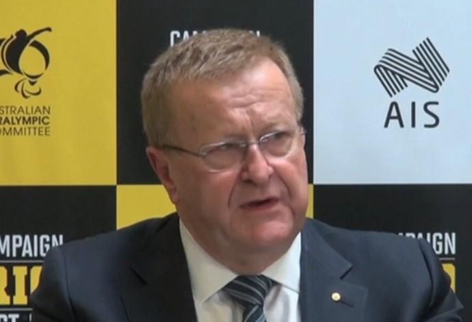 John Coates, vice-presidente do COI' (Foto: Reprodução / SporTV)