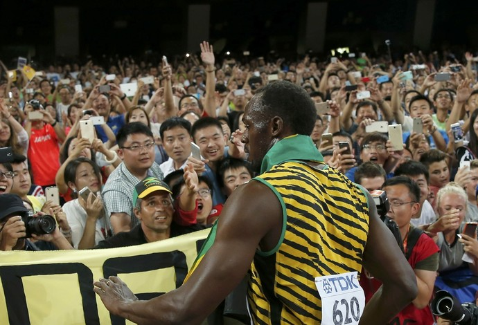 Usain Bolt Mundial Pequim final (Foto: Reuters)