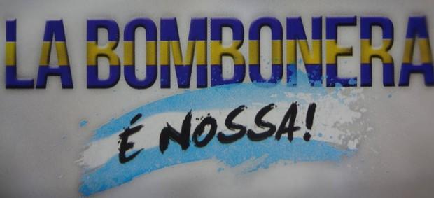Paysandu faz lançamento do dcumentário 'La Bombonera é Nossa' (Foto: Reprodução)
