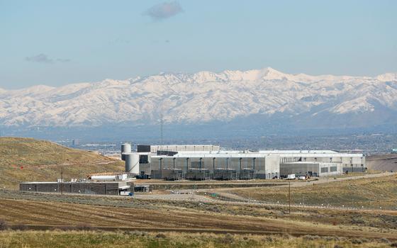 Nova Central de dados da NSA no estado de Utah (Foto:  George Frey/REUTERS)