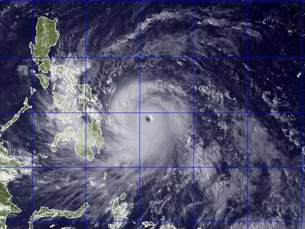 tufão filipinas (Foto: AP)