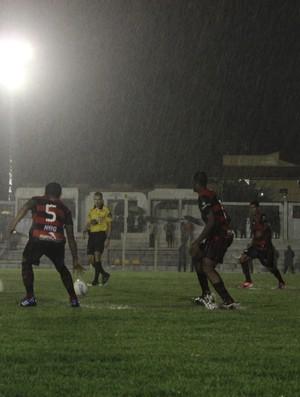 Caiçara e Flamengo-PI pela sexta rodada do Campeonato Piauiense (Foto: Josiel Martins)