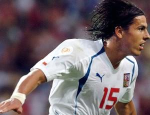 Milan Baros, Grécia, Euro 2004 (Foto: Getty Images)