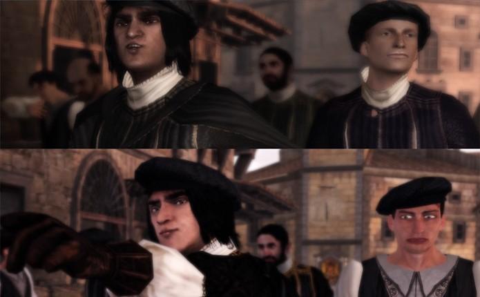 Assassin's Creed: The Ezio Collection é um exemplo de remaster no qual os gráficos ficaram piores (Foto: Reprodução/Polygon)