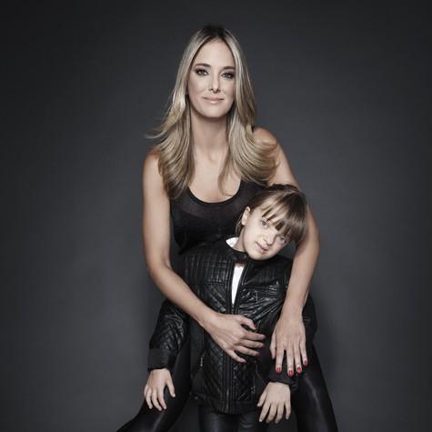 Ticiane com a filha, Rafa (Foto: Danilo Borges)