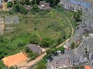 Região de Vila Moisés, no Cabula, que receberá reconstituição da ação policial (Foto: Imagens / TV Bahia)