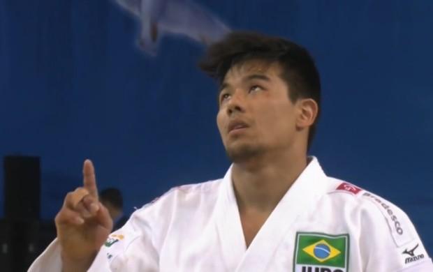 Charles Chibana Judô (Foto: Reprodução SporTV)