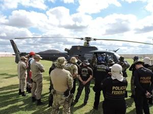 Operação contou com 40 policiais  (Foto: Divulgação/ PF)
