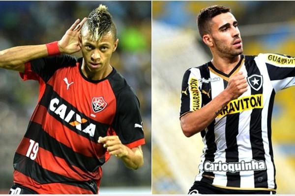 Vitória enfrenta o Botafogo neste sábado (04) (Foto: Rede Globo)