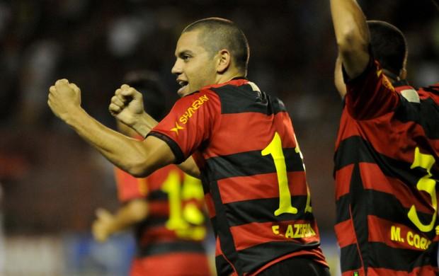 sport x atlético-GO (Foto: Aldo Carneiro/ Pernambuco Press)