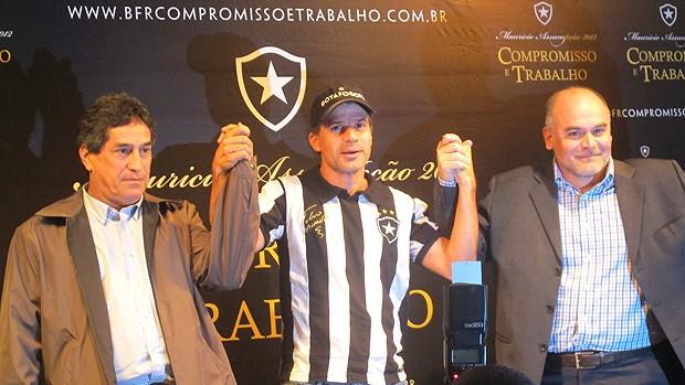 Lançamento da candidatura do Maurício Assumpção, Paulo Mendes e Tulio Maravilha (Foto: Thiago Fernandes / Globoesporte.com)