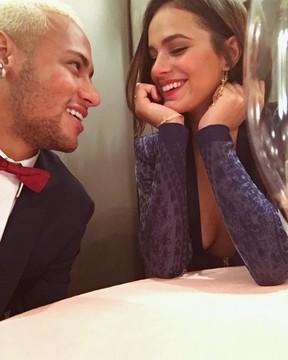 Bruna e Neymar (Foto: Reprodução/Instagram)