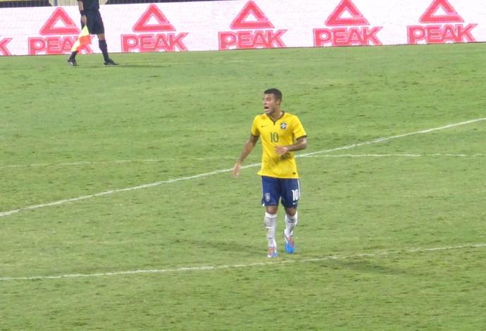 Rafinha Alcantara, Brasil X Libano Sub-21 (Foto: Richard Souza)