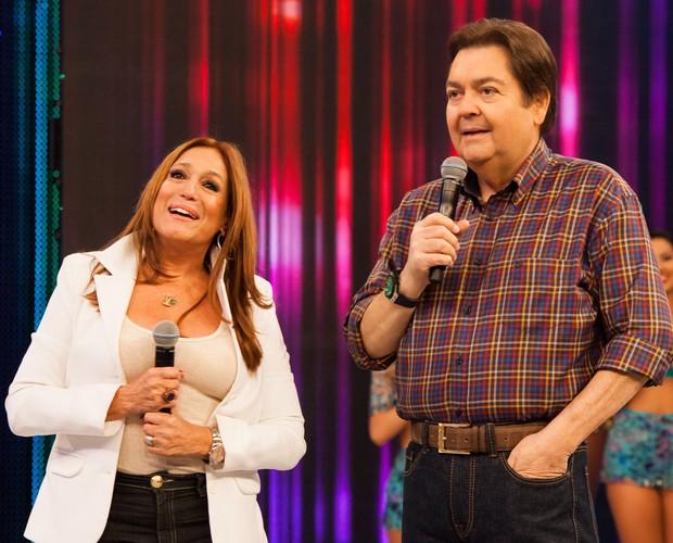 Susana Vieira fala sobre periguetes no programa  (Foto: Arthur Seixas / Gshow)