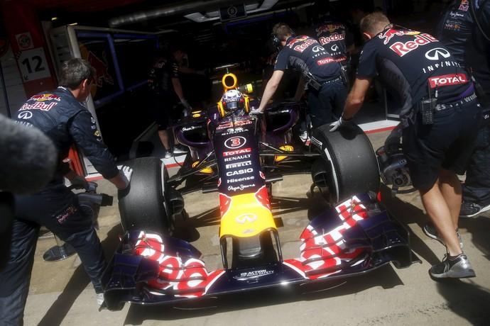 Fórmula 1 Daniel Ricciardo RBR treino GP da Espanha (Foto: Reuters)