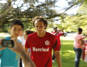 Diego Forlán, atacante do Inter (Foto: Diego Guichard / GLOBOESPORTE.COM)