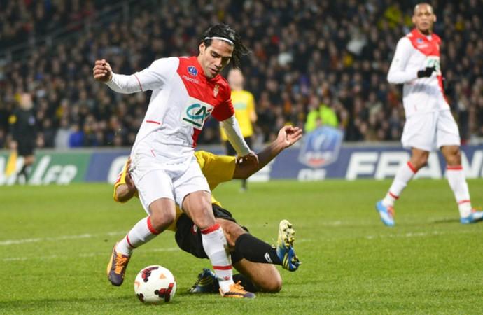 Falcao García lesão Monaco (Foto: Reprodução / Site Oficial)