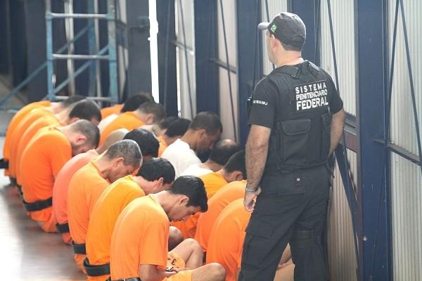 Segundo PM, Força Nacional está concentrada na atuação dos presídios (Foto:  James Tavares/Divulgação )