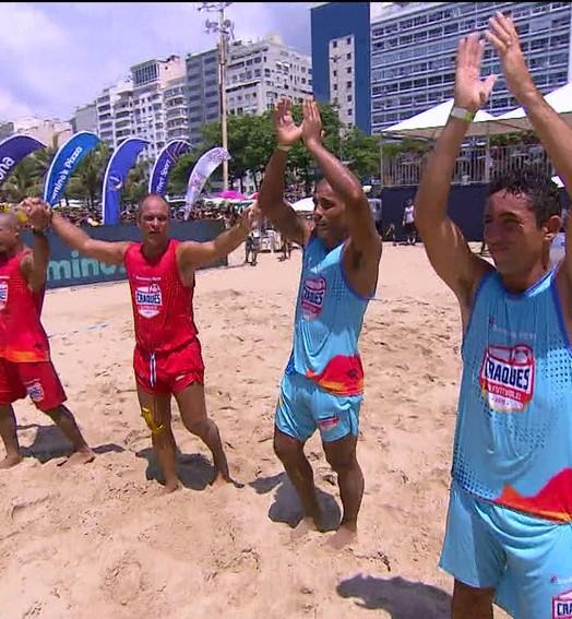 Felipe e Rodrigo ET vencem José Aldo e Isael  e conquistam o Craques do Futvôlei
