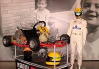 Carros históricos e itens pessoais de Senna inauguram museu (Felipe Siqueira)