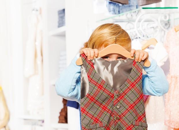 Você sabia que eu me escondia no armário? (Foto: Thinkstock)