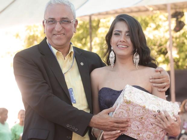 Ana Carolina Rosa de Souza foi a vencedora do concurso Talavera Bruce (Foto: Felipe Hidvégi/Seap/Divulgação)