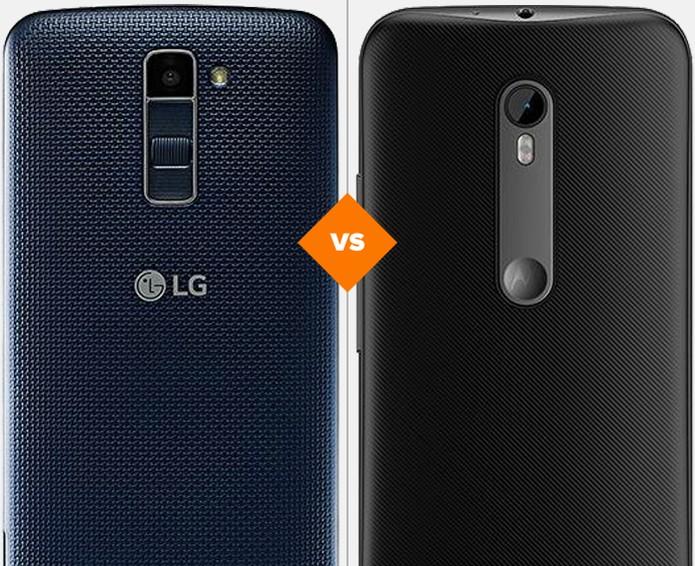 LG K10 ou Moto G3: veja qual celular se sai melhor em comparativo (Foto: Arte/TechTudo)