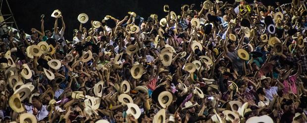 Em vídeos, textos e fotos, veja como foi a 60ª Festa do Peão de Barretos (Vídeos, fotos e textos mostram como foi a 60ª Festa de Barretos; confira (Mateus Rigola/G1))