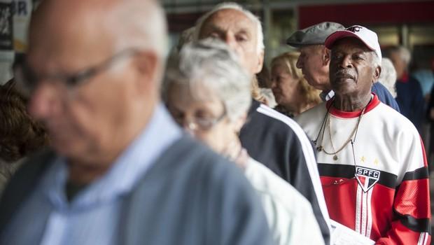 Idosos ; Terceira Idade ; Previdência ; aposentado ; população do Brasil ; população brasileira ; envelhecimento ;  (Foto: Marcelo Camargo/Agência Brasil)