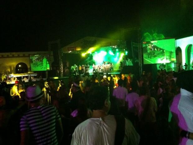Manaus Fantasy aconteceu nesta segunda (11) no Tropical Hotel, em Manaus (Foto: Marcos Dantas/G1 AM)