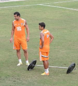 Fred treino Fluminense (Foto: Igor Rodrigues)