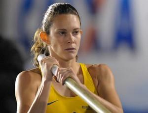 Fabiana Murer é prata no salto com vara no GP de São Paulo (Foto: Dorival Rosa/CBAt)