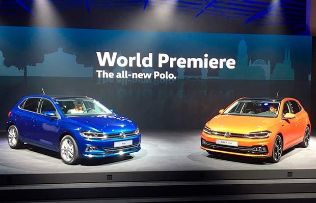 Novo Volkswagen Polo é revelado na Alemanha (Foto: Guilherme Blanco Muniz/Autoesporte)