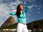 Miss Brasil Priscila Machado posa para o EGO no Rio de Janeiro