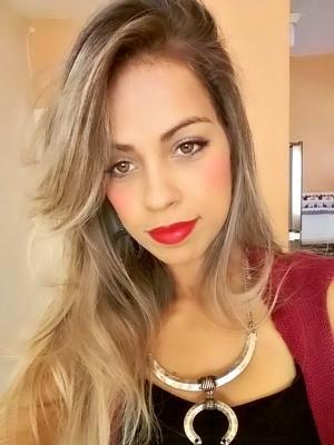 Milliane Oliveira mudou para casa de uma tia em Goiânia após ter a casa invadida por lutador (Foto: Arquivo pessoal)