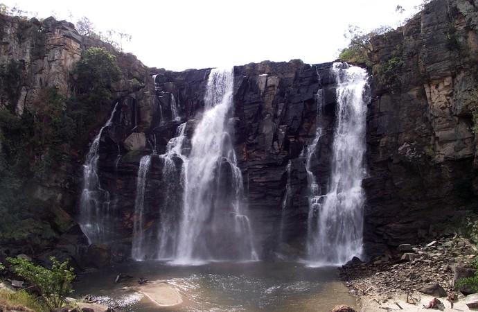 Salto do Corumbá (Foto: Divulgação)