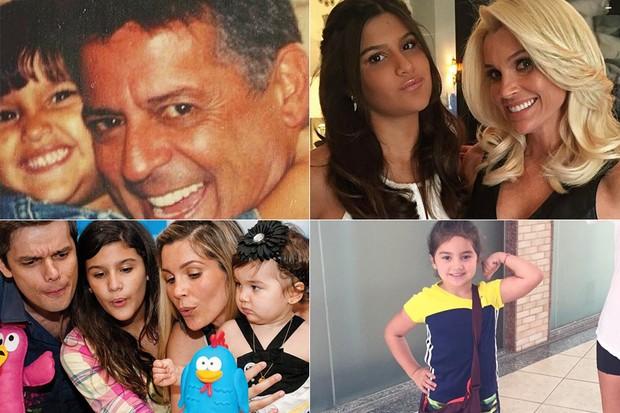 Crianças - Giulia Costa e Olívia (Foto: Instagram / Reprodução)