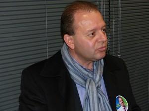 Entrevista com o candidato ao Governo do Paraná Tulio Bandeira (PTC) é a terceira da série do G1 (Foto: Sérgio Tavares Filho/G1)
